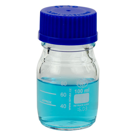 Picture of Simax® Glass Media/Storage Bottles - 2070M-100