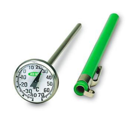 """Picture of VeeGee Scientific 1"""" Dial Bimetal Thermometers - 81110"""