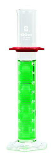 Picture of Sibata Class B Glass Graduated Cylinders - 2351-100