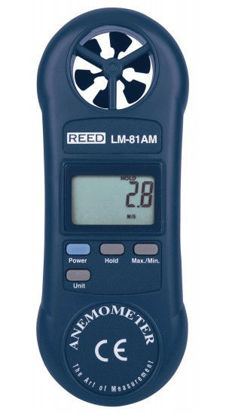 Picture of Reed LM-81AM Compact Vane Anemometer - LM-81AM