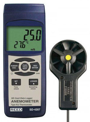 Picture of Reed SD-4207 Data Logging Vane Thermo-Anemometer
