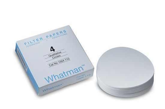 Picture of Whatman Grade 4 Qualitative Filter Papers - 1004-110