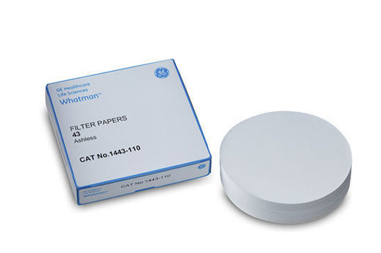 Picture of Whatman Grade 43 Quantitative Ashless Filter Papers - 1443-110