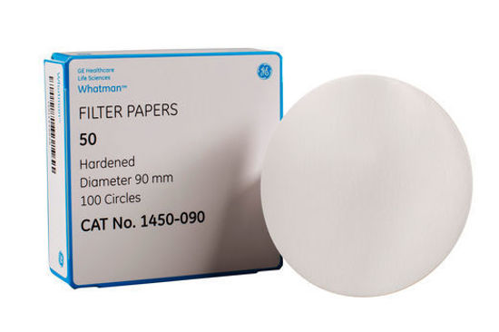 Picture of Whatman Grade 50 Quantitative Hardened Low Ash Filter Papers - 1450-063