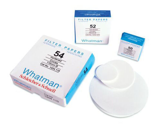 Picture of Whatman Grade 54 Quantitative Hardened Low Ash Filter Papers - 1454-125