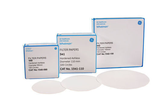 Picture of Whatman Grade 541 Quantitative Hardened Ashless Filter Papers - 1541-240