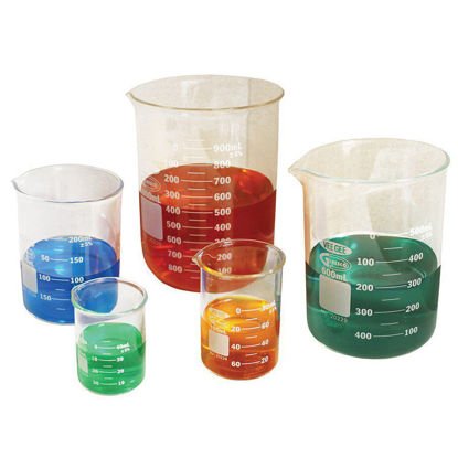 Picture of VeeGee Glassco Glass Low-Form Griffin Beakers