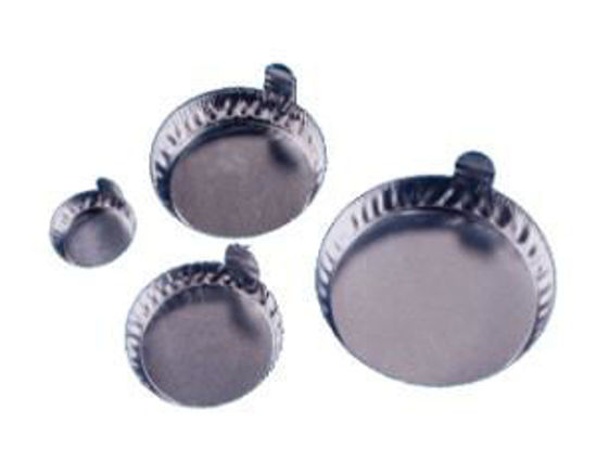 Picture of Round Aluminum Weighing Dishes - 8306-100