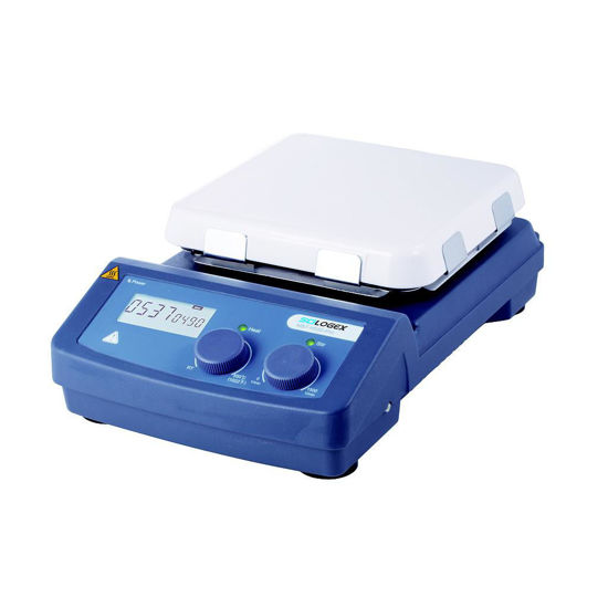 "Picture of Scilogex SCI550-Pro 7"" x 7"" LCD Digital Hotplate Stirrer"