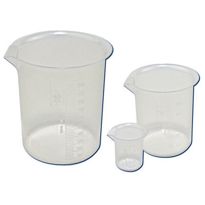 Picture of Polypropylene Low-Form Griffin Beakers