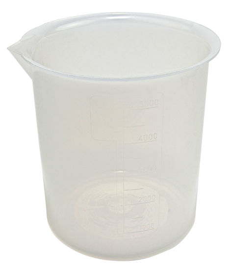 Picture of Polypropylene Low-Form Griffin Beakers  - 222075-10000