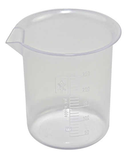 Picture of Polypropylene Low-Form Griffin Beakers  - 222075-250
