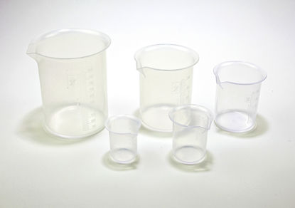 Picture of Polymethylpentene Low-Form Griffin Beakers