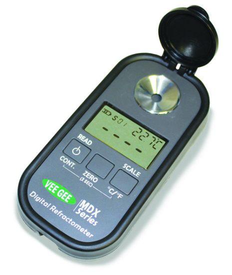 Picture of VeeGee Scientific MDX Series Portable Digital Brix/RI Refractometers - 48102