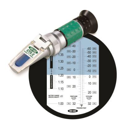 Picture of VeeGee Scientific X Series Handheld Analog Coolant/Battery Acid Refractometers