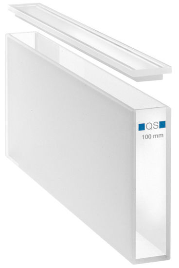 Picture of Hellma Quartz Glass High Performance Macro Absorption Cells - 100-100-40