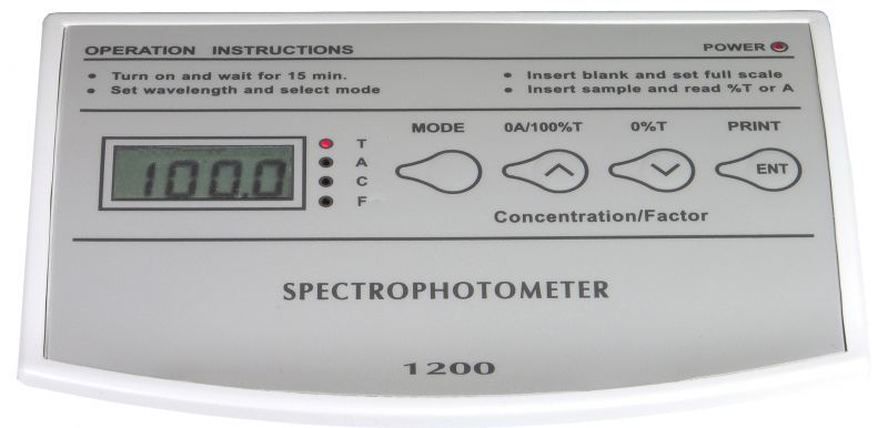 Picture of Unico S-1200 Series Visible Spectrophotometers
