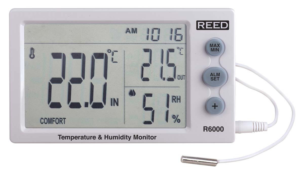 Picture of Reed R6000 Temperature/Humidity Meter