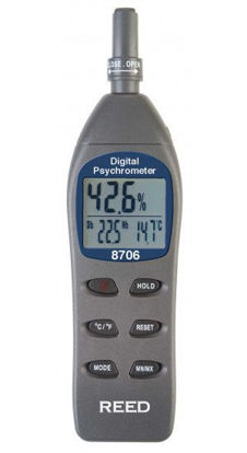 Picture of Reed 8706 Psychrometer / Thermo-Hygrometer
