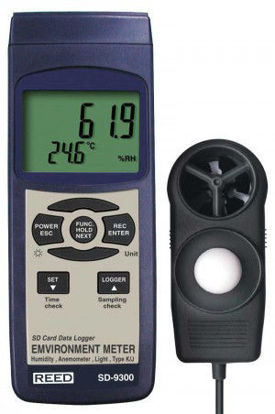 Picture of Reed SD-9300 Datalogging Environmental Meter