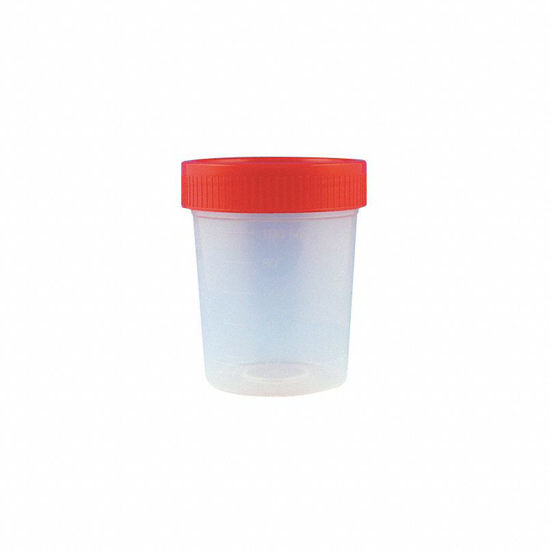 Picture of Globe Scientific 4oz Screw Cap Specimen Containers - 5915
