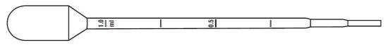 Picture of Globe Scientific Graduated Transfer Pipets - 137135