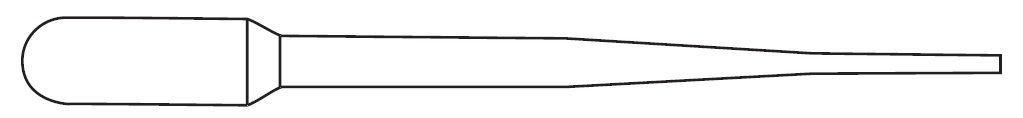 Picture of Globe Scientific Non-Graduated Transfer Pipets - 138060-S01