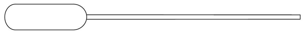 Picture of Globe Scientific Narrow Stem Transfer Pipets - 136030-S01