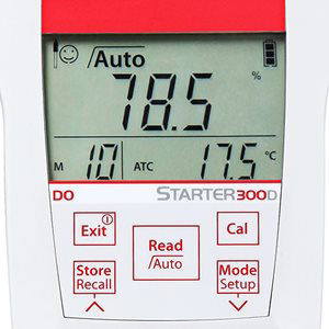 Picture of Ohaus Starter 300D Portable DO Meter - 30031655