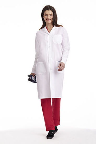 Picture of Full Length Unisex Lab Coat - L406-XXXS
