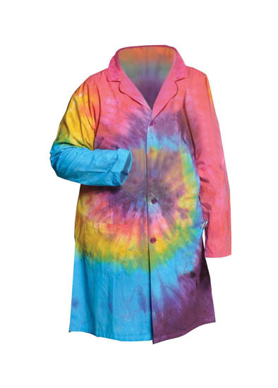 Picture of Full Length Unisex Tie-Dyed Lab Coats - LBCTLG
