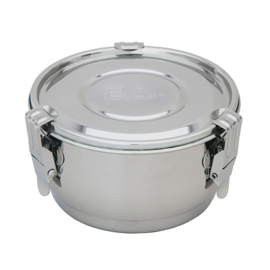 Picture of EVault™ 316 Stainless Steel Storage Containers - CSS-1L