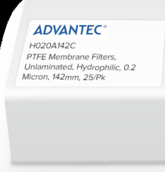 Picture of Advantec Unlaminated PTFE Hydrophilic Membrane Filters