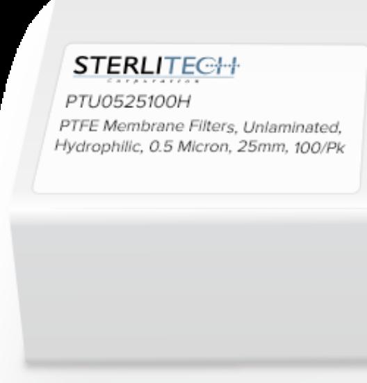 Picture of Advantec Unlaminated PTFE Hydrophilic Membrane Filters - H050A025A