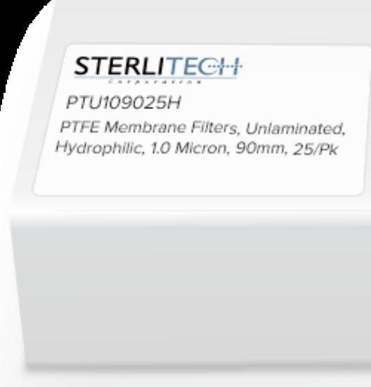 Picture of Advantec Unlaminated PTFE Hydrophilic Membrane Filters - H100A090C
