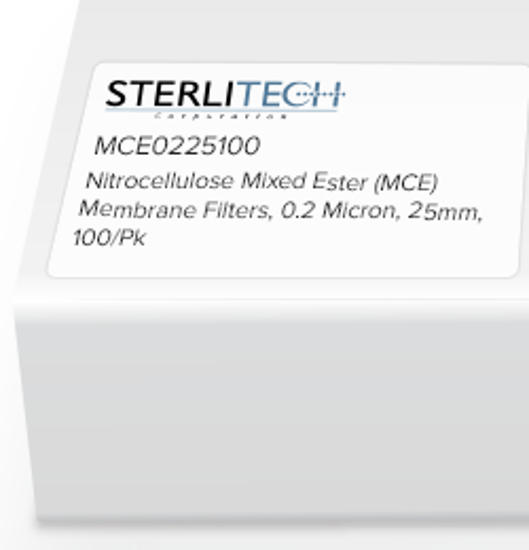 Picture of Sterlitech Mixed Cellulose Esters (MCE) Membrane Filters - A020A025A