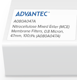 Picture of Sterlitech Mixed Cellulose Esters (MCE) Membrane Filters - A080H047A