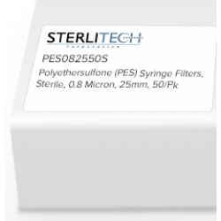Picture of Sterlitech Polyethersulfone (PES) Syringe Filters - PES082550S