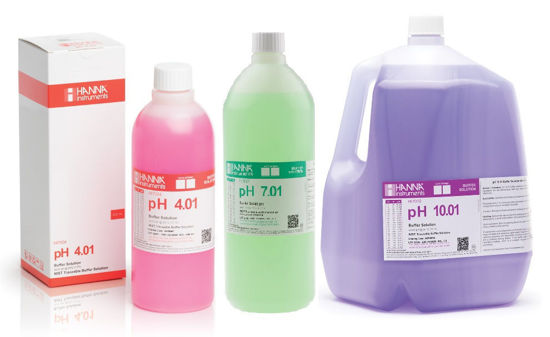 Picture of Hanna Instruments Standard pH Buffer Solutions