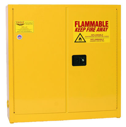 Picture of Eagle Manufacturing Flammable Liquid Safety Cabinets