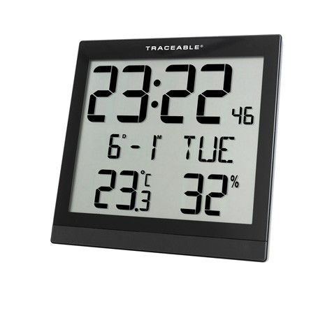 Picture of Traceable® Digital Radio Atomic Wall Clock