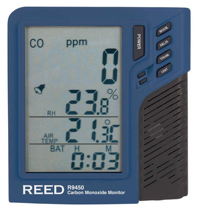 Picture of Reed R9450 Carbon Monoxide Monitor