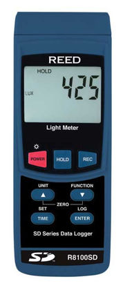 Picture of Reed R8100SD Data Logging Light Meter