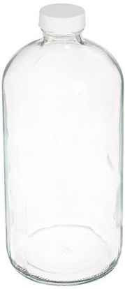 Picture of ProSource Scientific Boston Round Clear Glass Bottles