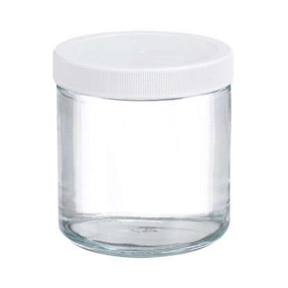 Picture of ProSource Scientific Wide Mouth Clear Glass Jars