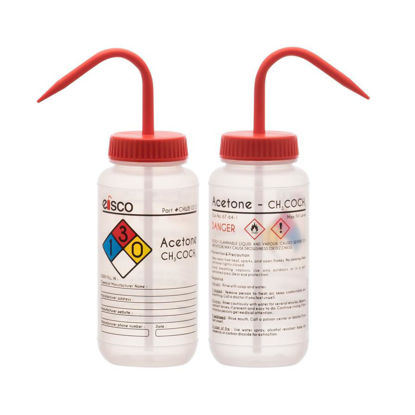 Picture of Eisco Safety-Labelled Wash Bottles