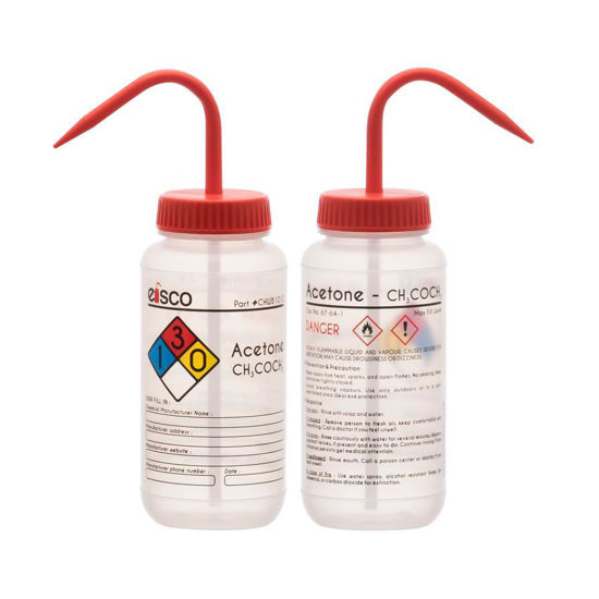 Picture of Eisco Safety-Labelled Wash Bottles - CHWB1012PK6
