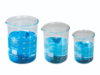Picture of United Scientific Glass Heavy Duty Low-Form Griffin Beakers