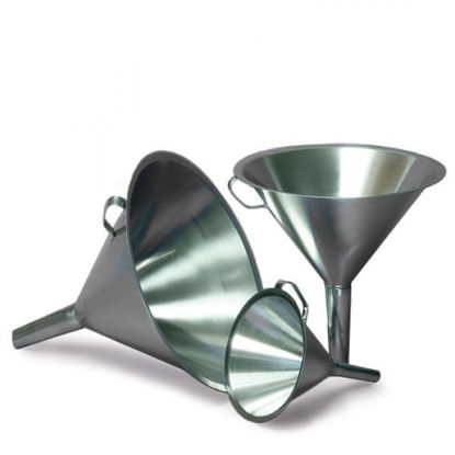 Picture of Sampling Systems Stainless Steel Liquid Funnels