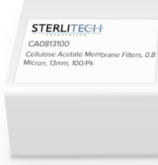 Picture of Sterlitech Cellulose Acetate (CA) Membrane Filters - CA0813100